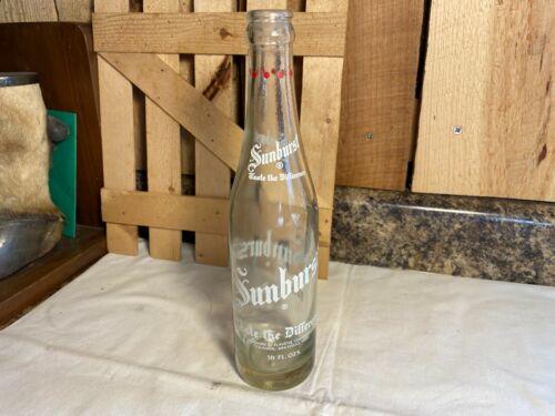 Vintage Sunburst ~ Taste the Difference ~ Camden, AR Soda Pop Bottle
