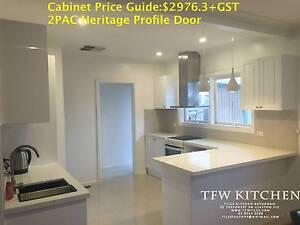 Complete Kitchen Cabinets + Hertiage Door Clayton Monash Area Preview