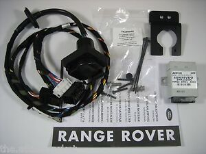 06 09 range rover towing tow trailer electrics wiring harness kit genuine new