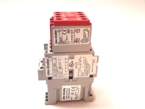 Allen Bradley 100S-C23J422C Ser. C Overload Safety Relay 100-C23*400 100S-F