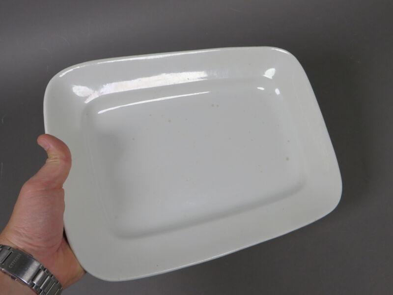 "Antique White English Ironstone Square Serving Platter Plate 13.75"" Wilkinson"