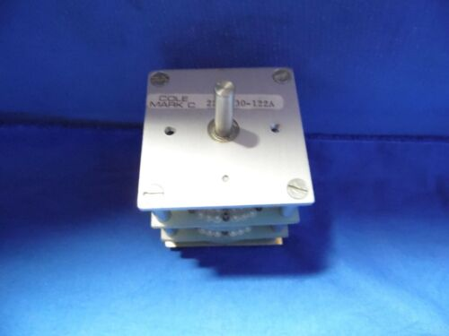 Cole Mark C Wafer Rotary Switch, 222-130-122A