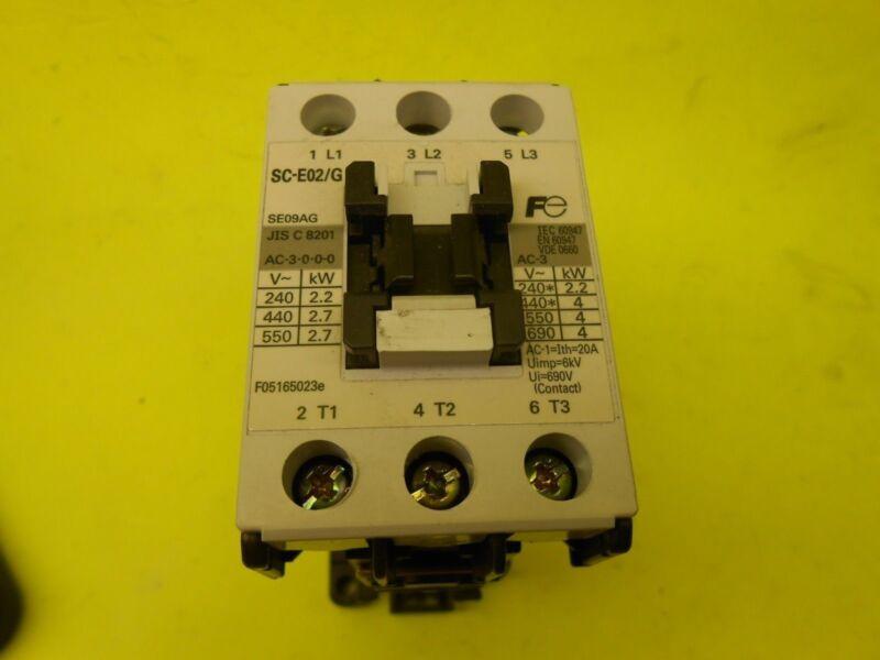 FUJI ELECTRIC FA SC-E02/G Reversing Contactor -- Lot of 3