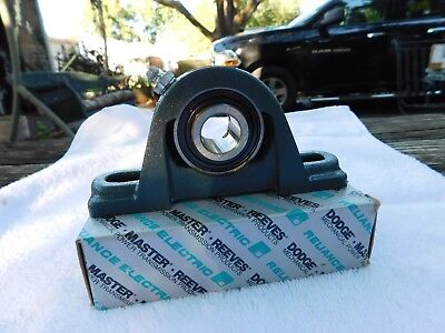 Bearing 3/4 Inch Blocks - ONE NEW DODGE RELIANCE 123803 BEARING PILLOW BLOCK 3/4 INCH NEW/ BOX/INSTRUC