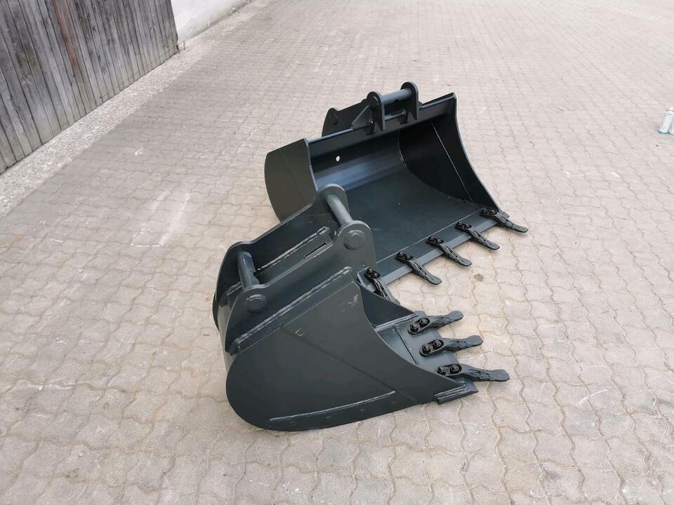 5-6to Verstärkter Tieflöffel 60cm (INKL MWST) MS03 600mm in Wettringen