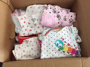 Newborn to 6 month baby girl lot 50+ pieces