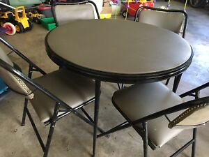 """Folding """"vintage"""" style card table"""