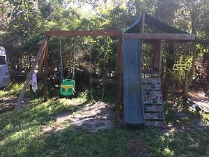 Climbing frame with swings Boreen Point Noosa Area Preview