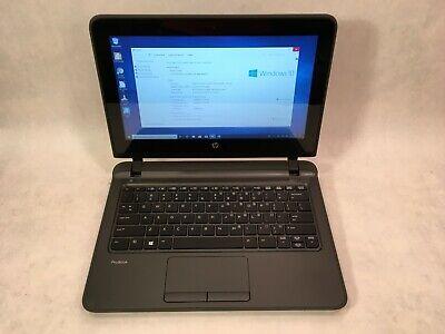 "HP ProBook 11 G1 11.6"" Touchscreen Intel i3 2.0GHz / 4GB RAM / 120GB SSD / Win10 segunda mano  Embacar hacia Mexico"