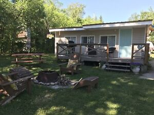 Kozy cabins for rent. Gull Lake Mb.