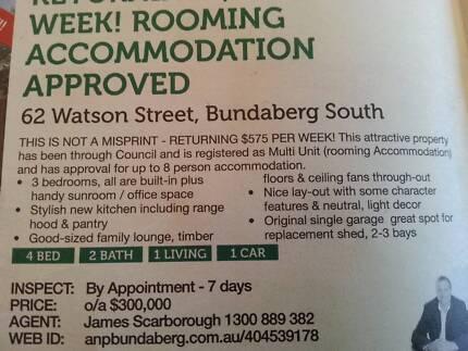 Council Approved Hostel FOR SALE Bundaberg Central Bundaberg City Preview
