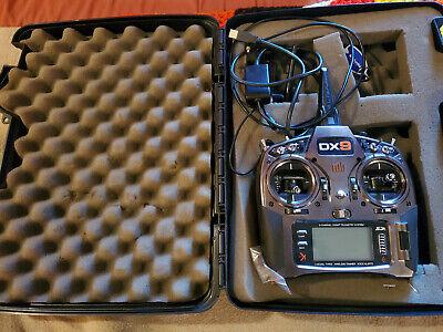 Spektrum DX9 Transmitter - Silver, includes case