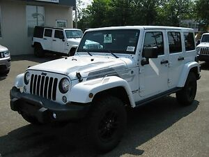 2017 Jeep Wrangler Unlimited 2 TOITS REMORQUAGE WINTER EDITION N