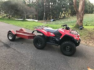 Quad bike plus trailer Carey Gully Adelaide Hills Preview