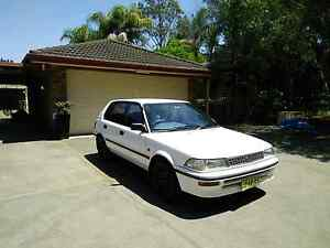 1993 TOYOTA COROLLA CSI LIMITED NEG WITH REGO AND PINK SLIP! Rouse Hill The Hills District Preview