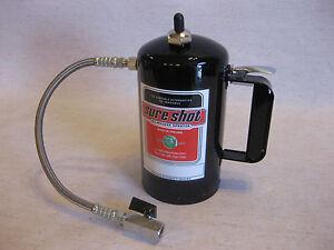 SURE-SHOT-Flush-Pot-With-Hose-for-sSpray-Foam-Gun-Rigs