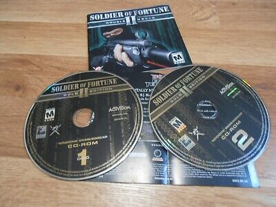 Soldier of Fortune II Gold: Double Helix (PC, 2003) Game with