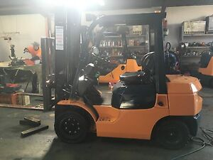 TOYOTA FORKLIFT 2.5 TONNE 7 SERIES DAMOLI FORKLIFTS BARGAIN Geelong Geelong City Preview