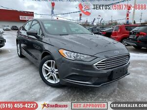 2018 Ford Fusion SE | 1 OWNER | CAM | POWER SEATS