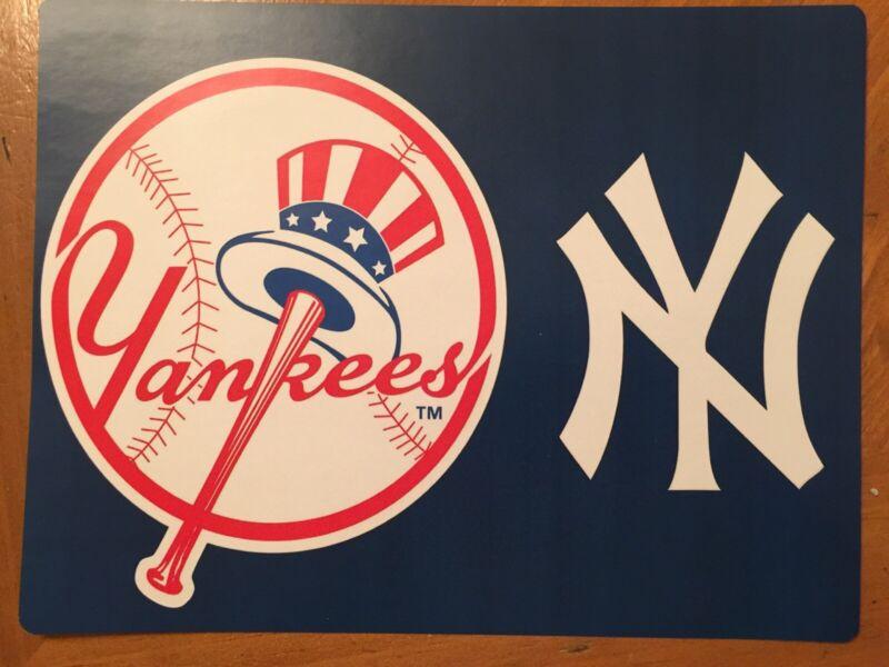 Tin Sign Vintage Metal New York Yankees MLB 1