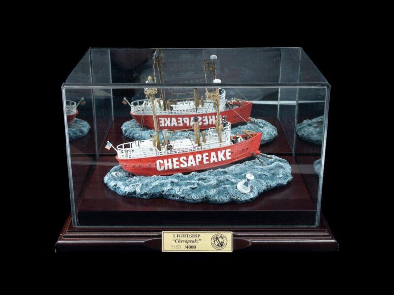 "Anchor Bay 1997 AB 101S Lightship ""CHESAPEAKE"" NO.116 w/ Display Case #1161/4000"