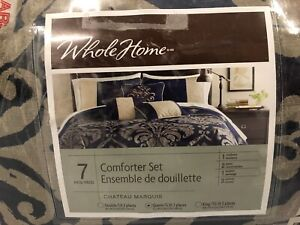 Sears Whole Home Comforter Set, Queen