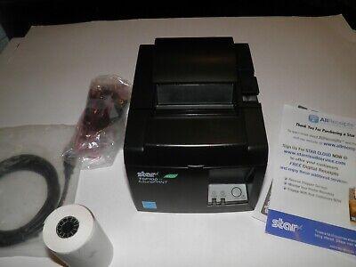 New Star Micronics Tsp100 143iiu Usb Thermal Pos Receipt Printer W Power Cord