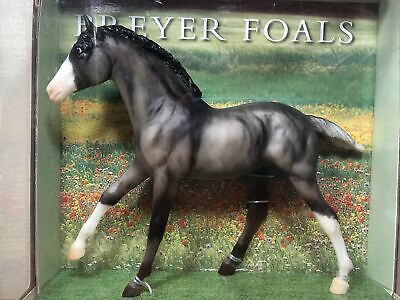 Breyer #1156 Moonbeam Grullo Foal Horse 2006 Gray White 1:9 Scale NIB