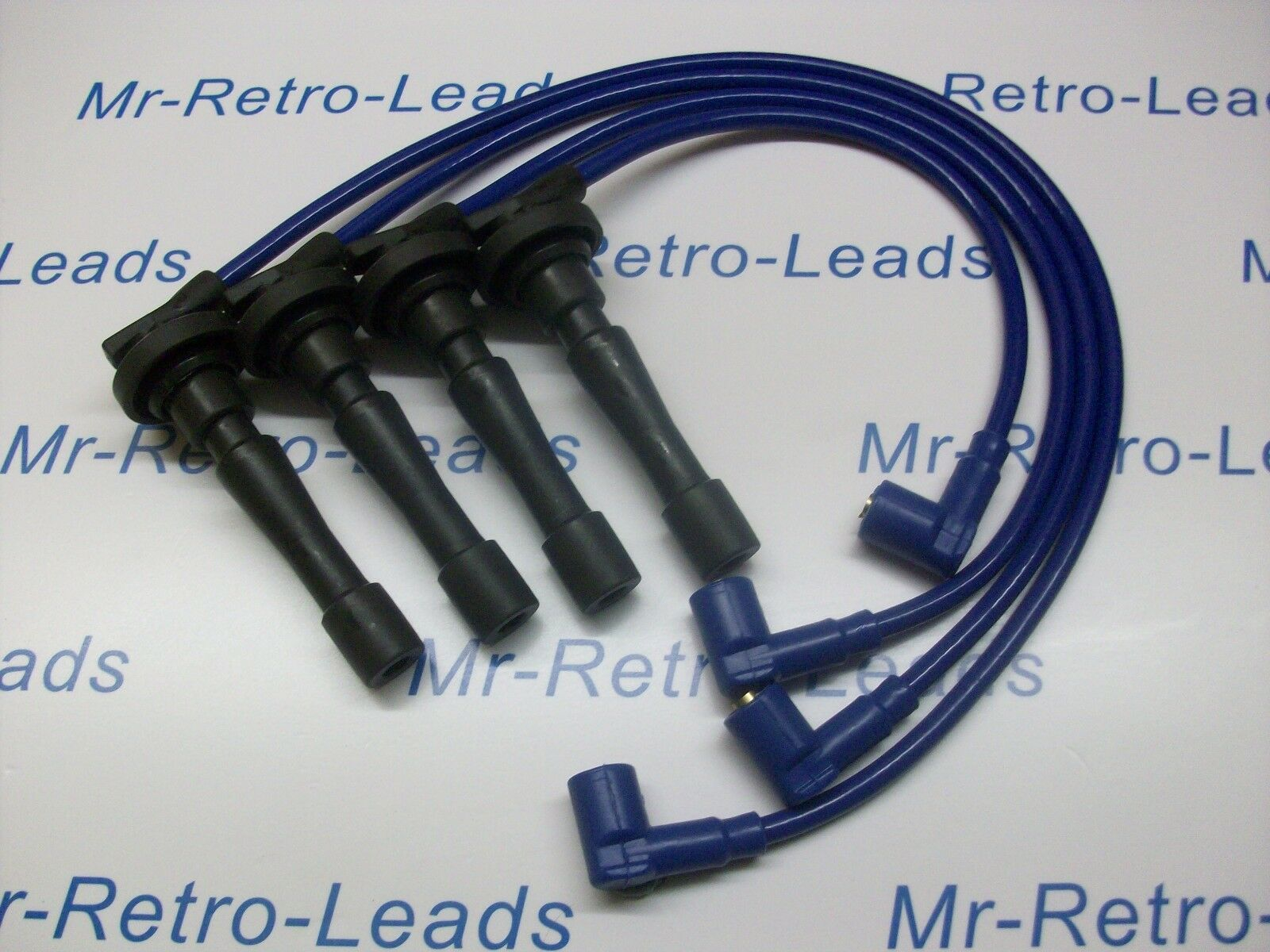 Bleu 8 mm Performance Ignition leads for the Civic B16 B18 Guidon moteurs Qualité