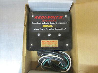 Redivolt Ii System Iv 3w 120208 Volt Transient Voltage Surge Suppressor New