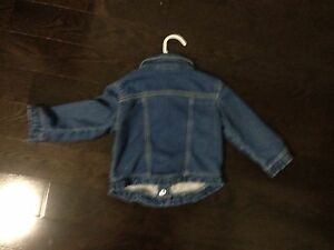 Gymboree girls 12-18 months jeans jacket denim