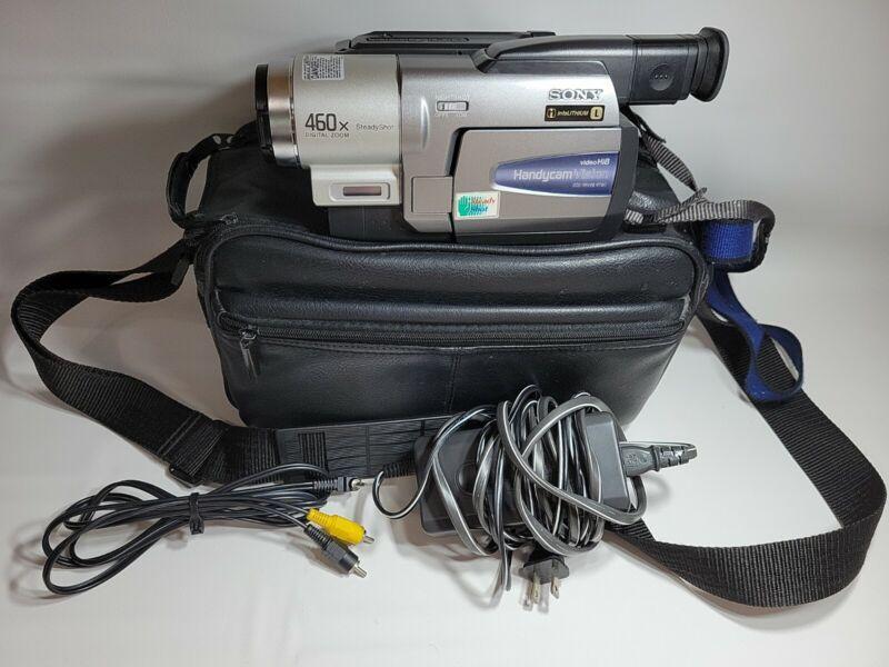 Sony Handycam CCD-TRV68 Hi-8 Video 8 8mm Camcorder - Tested
