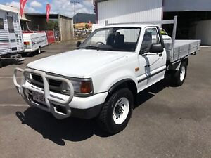 1998 Ford Courier XL 4X4 Cab Chasis Ute Bungalow Cairns City Preview