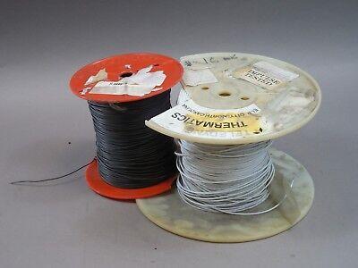 Lot Of 2 Spools 20 16 Awg Mil Spec Aviation Universal Wire Raychem 1 Each