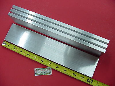 4 Pieces 38 X 2-12 Aluminum 6061 Flat Bar 12 Long T6511 Plate Mill Stock