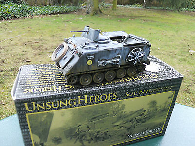 CORGI Military Unsung Heroes Ref US 167657 6/12ft 106 Mortar Carrier Viet Nam