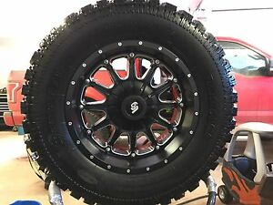 Pro comp tires and lrg rims