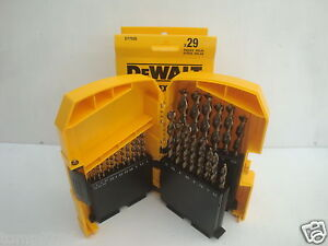 DEWALT DT7926 29PCE EXTREME 2  HSS G  METAL DRILL BIT SET IN TOUGH CASE