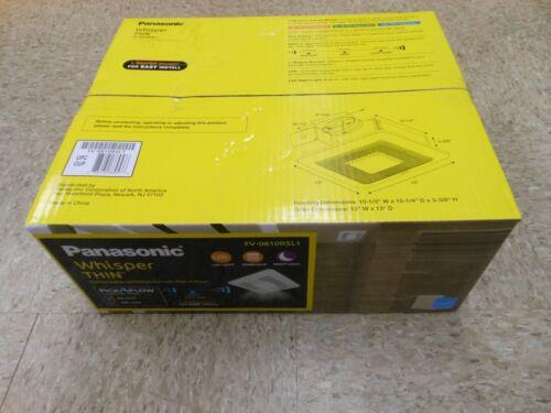 Panasonic WhisperThin 80/100 CFM Exhaust Fan with LED Light FV-0810RSL1