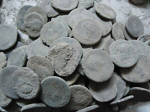 LARGE UNCLEANED ROMAN COINS 15 to 36mm MEDIUM GRADE, EVERY bid is per coin !!
