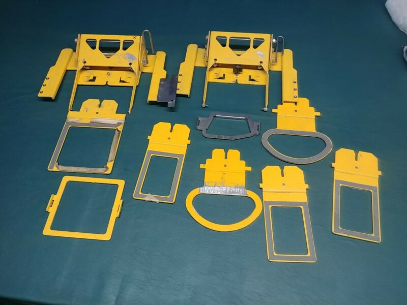 "EMS Hoop Tech Parts attachments 4"" 3"" Cap Hat Back"