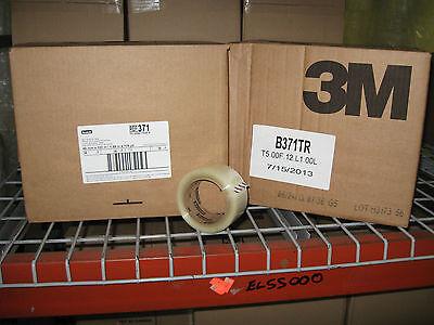 72 Rolls 3m 371 Scotch 2 Clear Packaging Carton Sealing Tape W Free Shipping