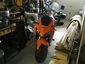 Great condition sport bike