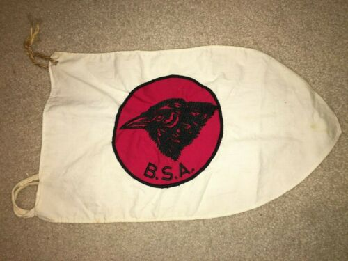 Boy Scout BSA Raven Red Black 1955 - 1972 Jacket Patch Patrol Pennant Flag