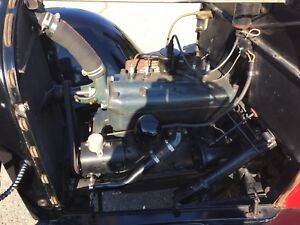 1929 ford 4 cylinder motor and stock 3 speed transmission