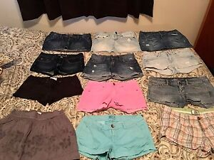 Assorted summer clothes