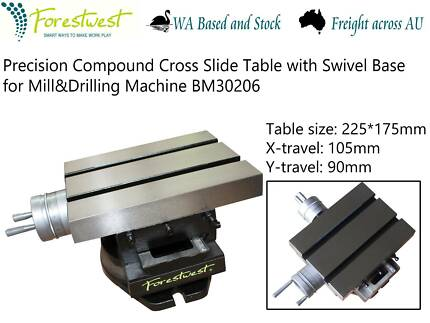 225X175MM Cross Slide Table With Swivel Base [ForestWest] BM30206
