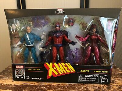 Marvel Legends Lot Family Matters 3 Pack * Magneto Quicksilver Scarlet Witch