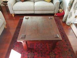 Coffee table, square, wooden