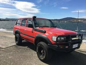 Toyota Landcruiser 80 Series Turbo Diesel Lindisfarne Clarence Area Preview